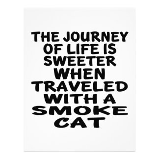 Traveled With Smoke Cat Letterhead