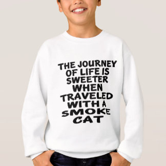 Traveled With Smoke Cat Sweatshirt