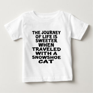 Traveled With Snowshoe Cat Baby T-Shirt