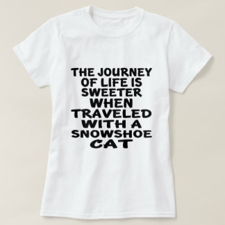 Traveled With Snowshoe Cat T-Shirt