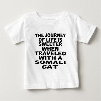 Traveled With Somali Cat Baby T-Shirt