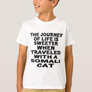 Traveled With Somali Cat T-Shirt