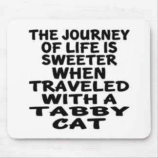 Traveled With Tabby Cat Mouse Pad
