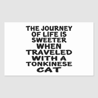 Traveled With Tonkinese Cat Sticker