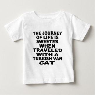 Traveled With Turkish Van Cat Baby T-Shirt