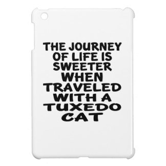 Traveled With Tuxedo Cat iPad Mini Cover