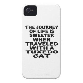 Traveled With Tuxedo Cat iPhone 4 Cases