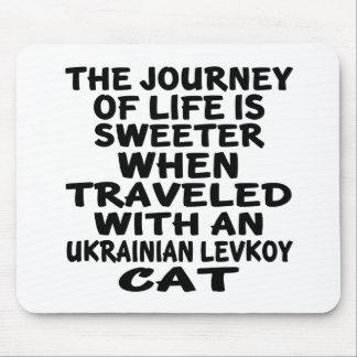 Traveled With Ukrainian Levkoy Cat Mouse Pad