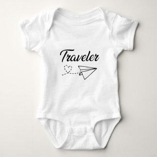 Traveler Baby Bodysuit