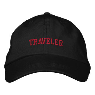 TRAVELER EMBROIDERED HAT