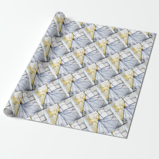 Traveler of Many Cosmos Wrapping Paper