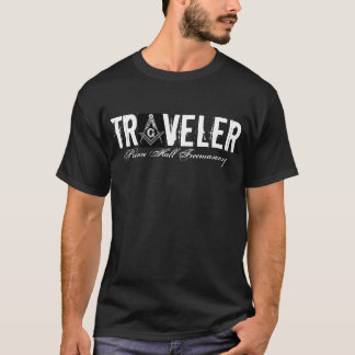Traveler, Prince Hall Freemasonry T-Shirt