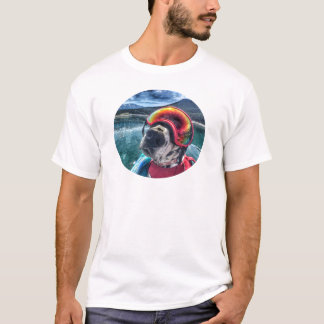 Traveler The Paddling Dog T-Shirt