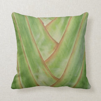 Travelers Palm Throw Pillows