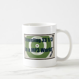 Traveling 33 1/3 In A MP3 World Coffee Mug