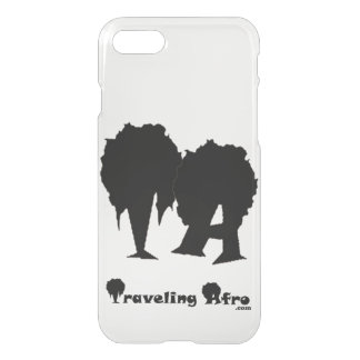 Traveling Afro Phone Case