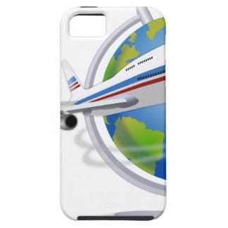 Traveling around the Globe iPhone 5 Case
