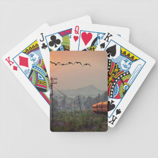 Traveling Bicycle Playing Cards