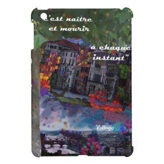 Traveling is like a renovation every moment cover for the iPad mini