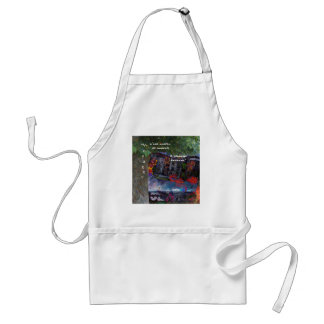 Traveling is like a renovation every moment standard apron