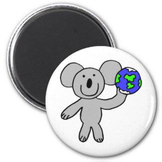 Traveling Koala Magnet