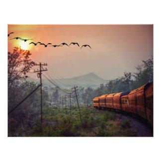 Traveling Letterhead