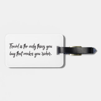 Traveling Luggage Tag -  Floral