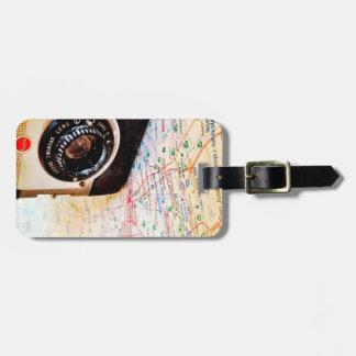 Traveling Photographer Luggage Tag