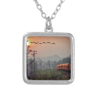 Traveling Silver Plated Necklace