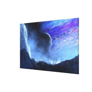 Traveller (Planetside) Canvas Print