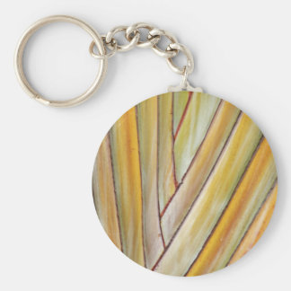 Travellers Tree Key Ring Basic Round Button Keychain