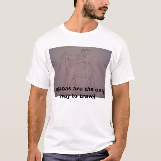 travelling alpaca T-Shirt