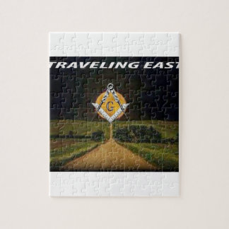 Travelling East Jigsaw Puzzle