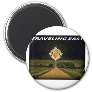 Travelling East Magnet