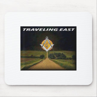 Travelling East Mouse Pad