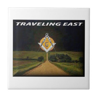 Travelling East Tile