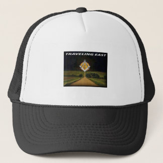 Travelling East Trucker Hat
