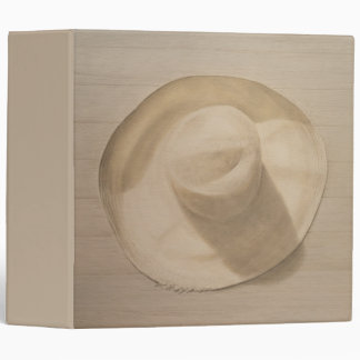 Travelling Hat on Dusty Table 2010 3 Ring Binders