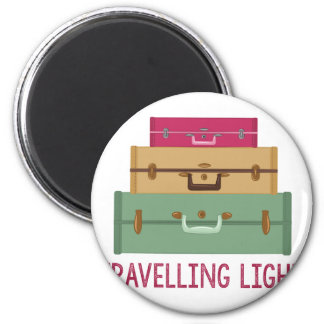 Travelling Light 2 Inch Round Magnet