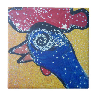 Travelling to the Chicken head galaxy Ceramic Tiles