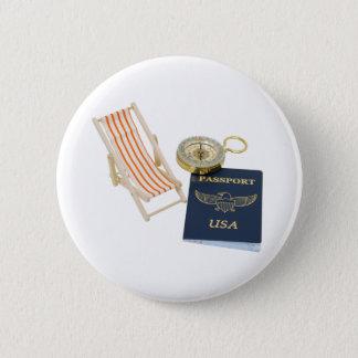 TravelVacation040309 2 Inch Round Button