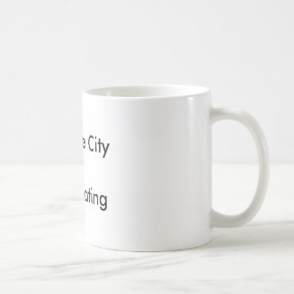 Traverse City =Anti Boating Classic White Coffee Mug