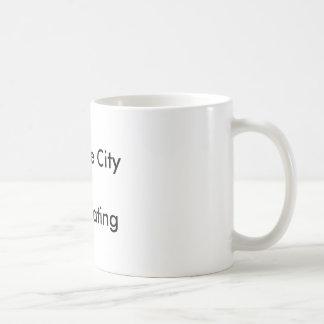 Traverse City =Anti Boating Basic White Mug