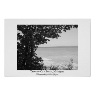 Traverse City Beach, Michigan Poster