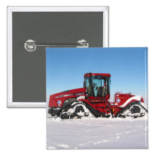 Traversing Arctic Tractor 2 Inch Square Button