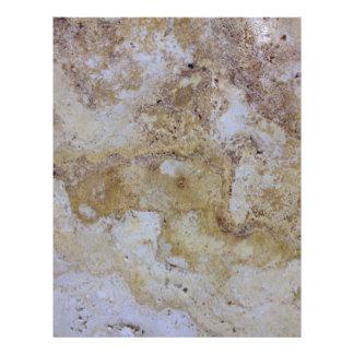 travertine stone letterhead