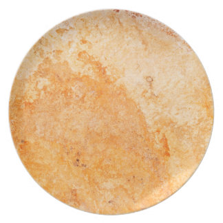 Travertine Stone Pattern Melamine Plate
