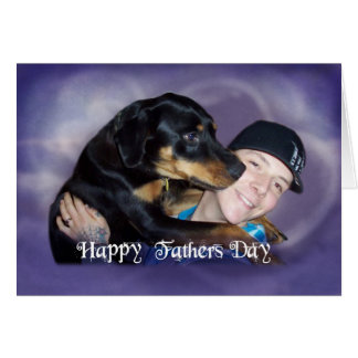 Travis and his Dad Card