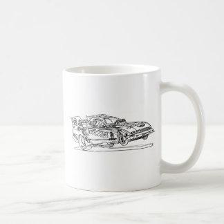 Trax 8th Funny Car Coffee Mug