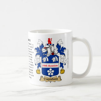 Traynham 50th Reunion Coat of Arms Coffee Mug